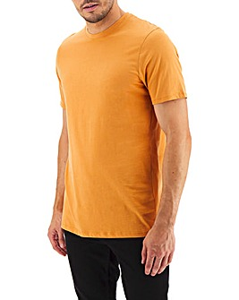 Ochre Crew Neck T-shirt Long