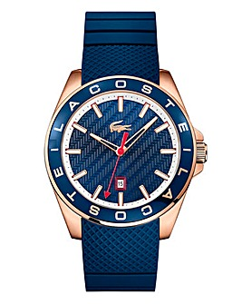 Lacoste Gents Silicon Strap Watch -Blue