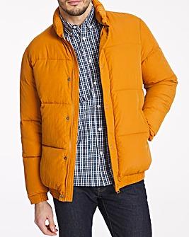 Orange Padded Jacket