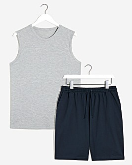 Vest and Short Set