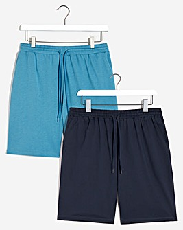 2 Pack Jersey Shorts