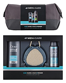 Dove Men Washbag Twin Pack Gift Set