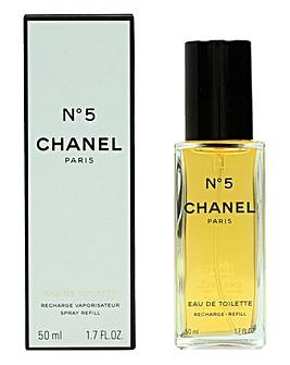 Chanel No 5 EDT Spray Refill 50ml