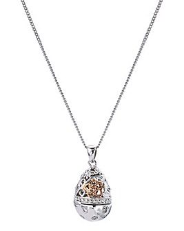 Clogau Silver & Gold Egg Locket