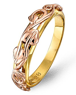Clogau 9ct Rose Gold Tree Of Life Ring