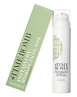 Time Bomb Instawow Sparkling Face Mask