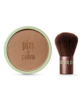 Pixi Beauty Bronzer & Kabuki Brush