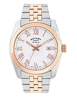 Rotary Gents Swiss Two Tone Bracelet Watch