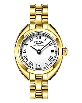 Rotary Ladies Gold Tone Bracelet Watch