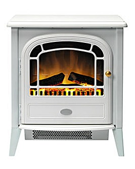 Dimplex Courchevel Optiflame White Stove Fire