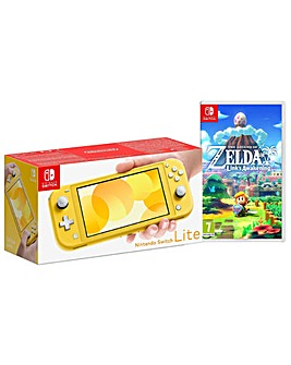 Nintendo Switch Lite Yellow and Zelda