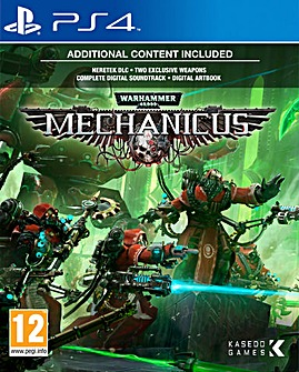 Warhammer 40000 Mechanicus PS4