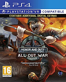 Honor and Duty D -Day double pack PSVR