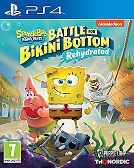 Spongebob SquarePants Rehydrated PS4