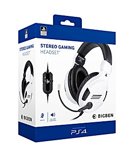 PS4 Official Stereo Gaming Headset White