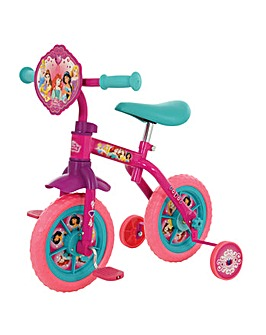 "Disney Princess 2in1 10"" Training Bike"