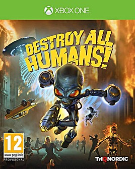 Destroy All Humans Xbox One