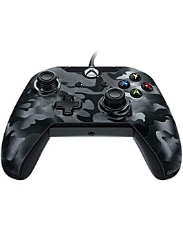 Wired Controller for Xbox One Black Camo
