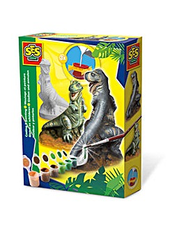 Children's T-rex Casting & Painting Set