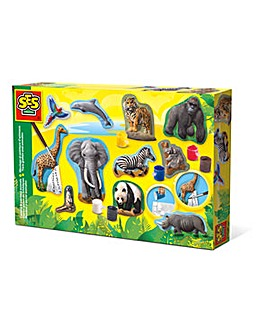 Children's Animal Casting & Painting Set