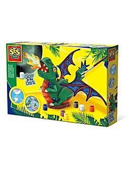 Dragon Glow-in-the-Dark Painting Set