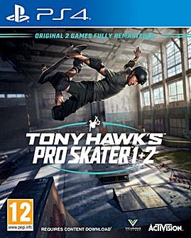 Tony Hawk Pro Skater 1 and 2 PS4