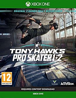 Tony Hawk Pro Skater 1 and 2 Xbox One