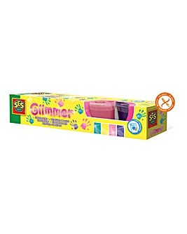 Glimmer Washable Fingerpaint Set
