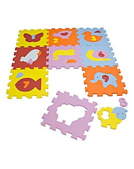Children's Animals Floor Mat Puzzle