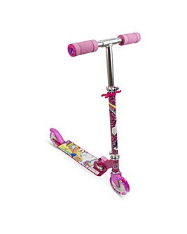 BARBIE Foldable Scooter with LED Wheels