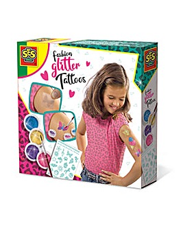 Temporary Fashion Glitter Tattoos Set