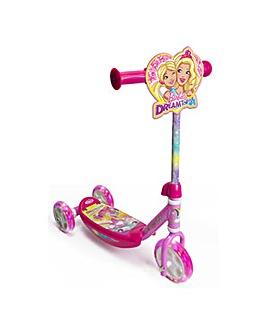 Barbie Dreamtopia Tri-Scooter LED Wheels