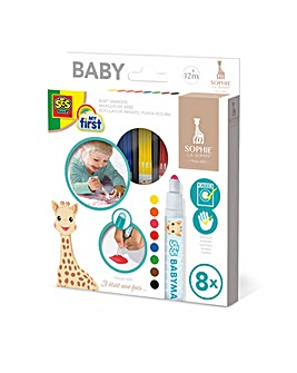 Sophie The Giraffe Baby Markers Set