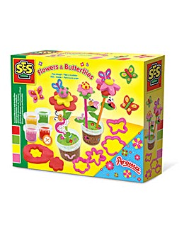 Aroma Glitter Play Dough Butterflies Set