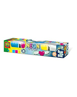 Play Dough Neon and Glow-in-the Dark Set