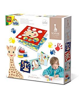 Sophie The Giraffe Fingerpaint Cards Set