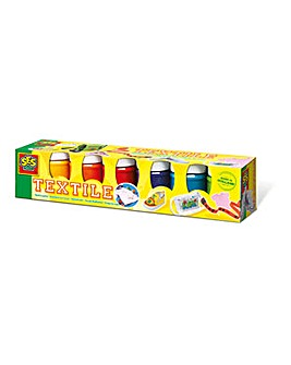 Children's Trendy Textile Paint Set x 6