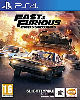 Fast  Furious Crossroads PS4