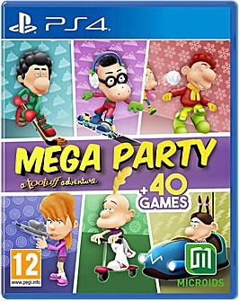 MEGA PARTY a Tootuff Adventure PS4