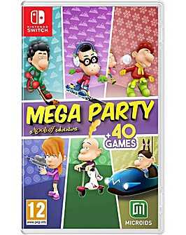 MEGA PARTY a Tootuff Adventure Switch