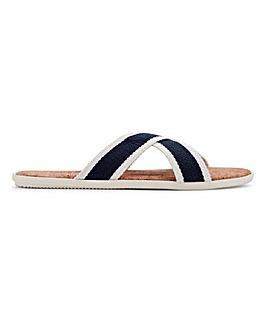 Cork Crossover Sandal