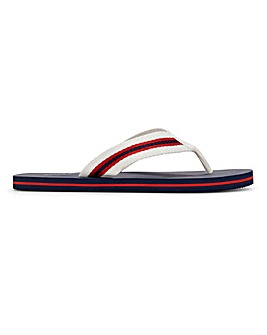 Fabric Toe Post Sandal