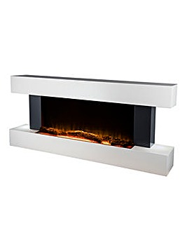 Warmlite Flame Effect Wall Mounted Fire