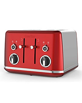 Breville Lustra Red 4 Slice Toaster