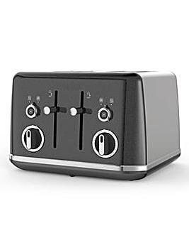 Breville VTT853 Lustra Storm Grey 4 Slice Toaster