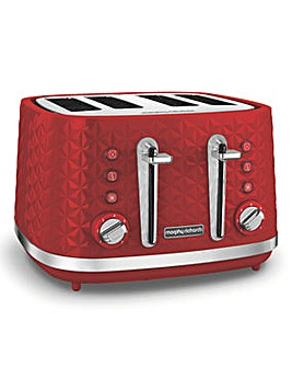 Morphy Richards Vector Red Toaster