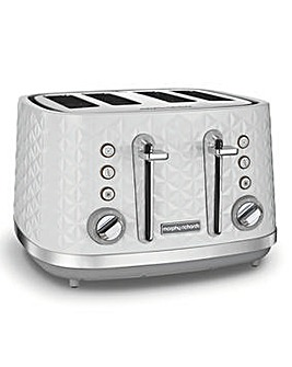 Morphy Richards Vector White Toaster