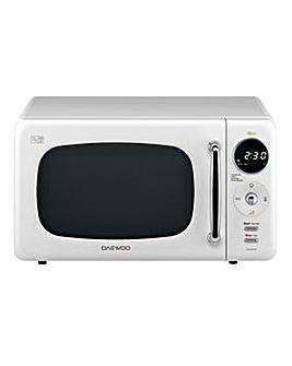 Daewoo KOR9LBK 20L Microwave - White
