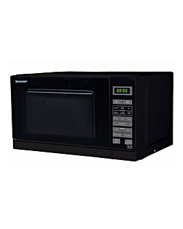 Sharp R272KM 20L Microwave - Black