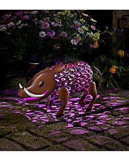 Silhouette Warthog